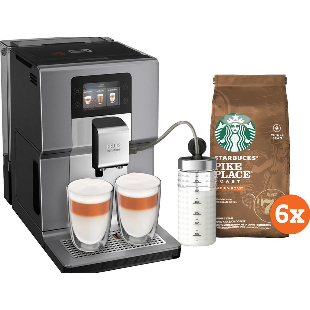 Krups Intuition Preference + EA875E + Starbucks Koffiebonen