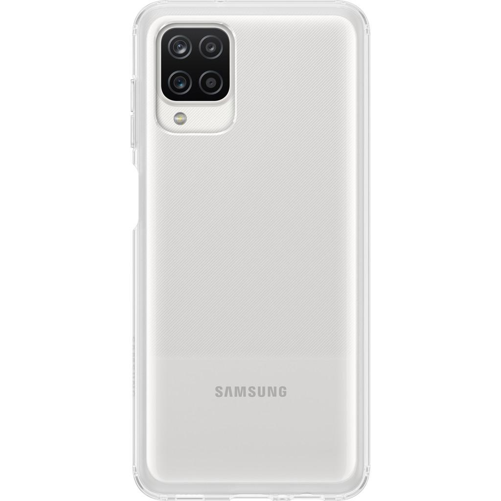 Samsung Galaxy A12 Soft Clear Back Cover Transparant