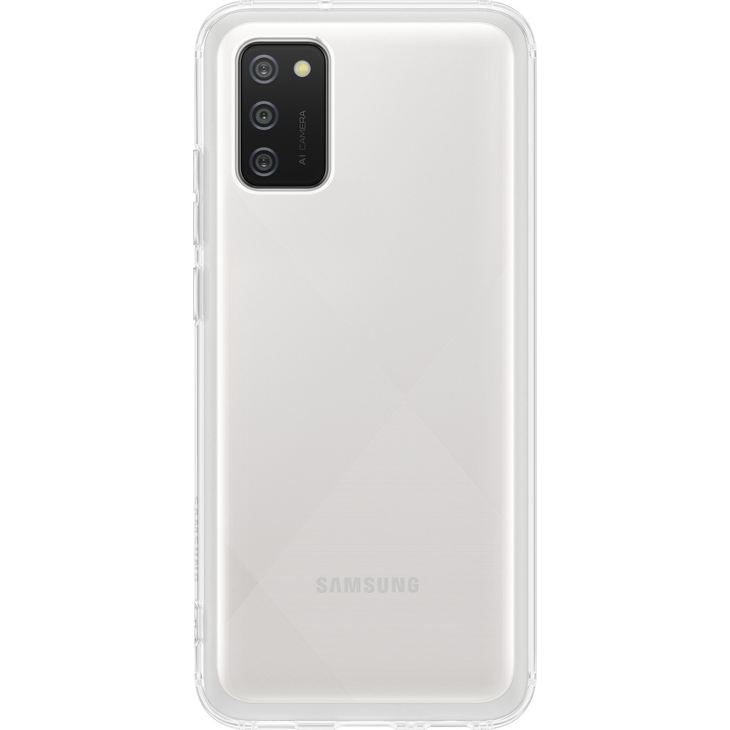 Samsung Galaxy A02s Soft Clear Back Cover Transparant