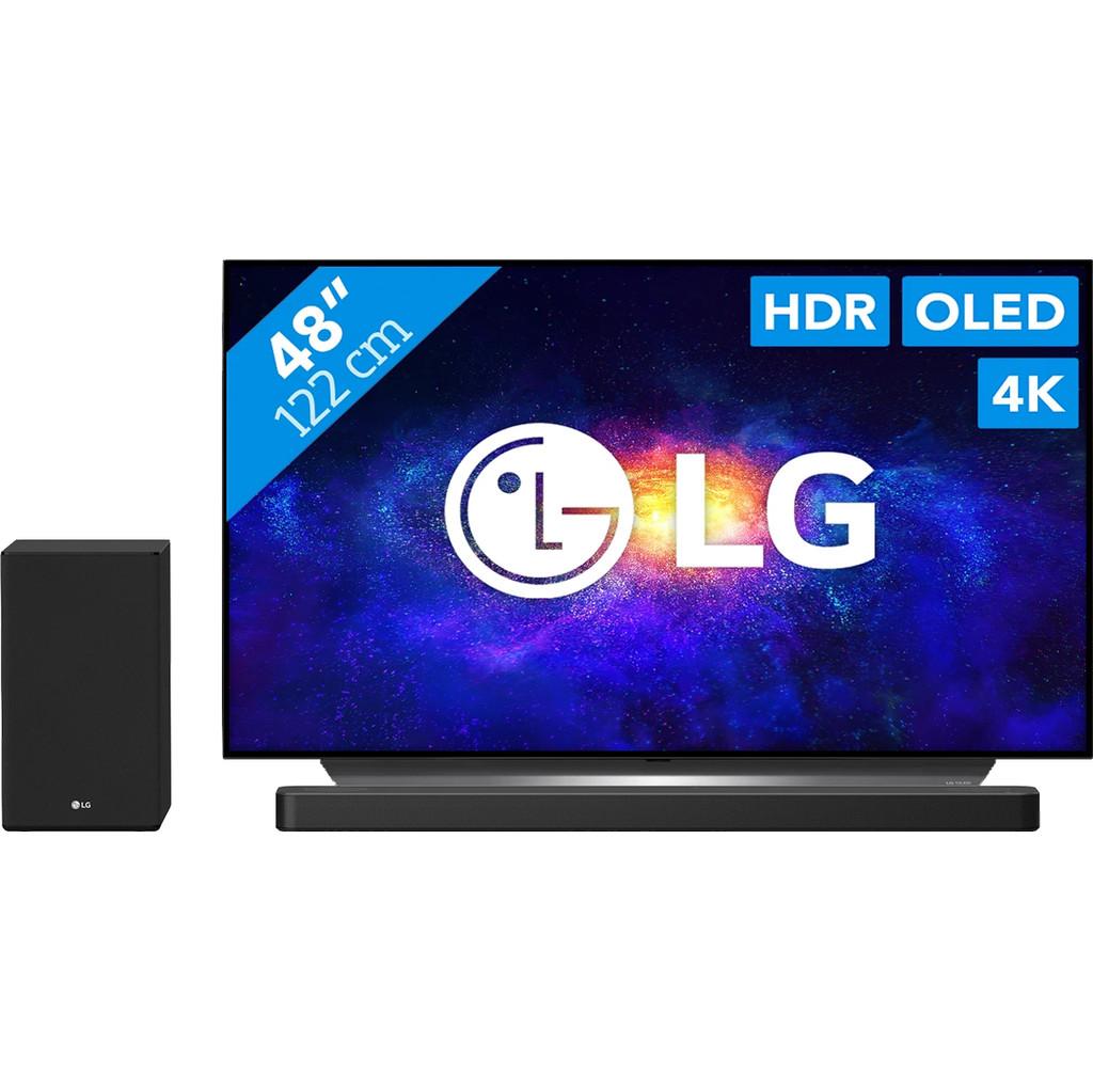 LG OLED48CX6LB + Soundbar