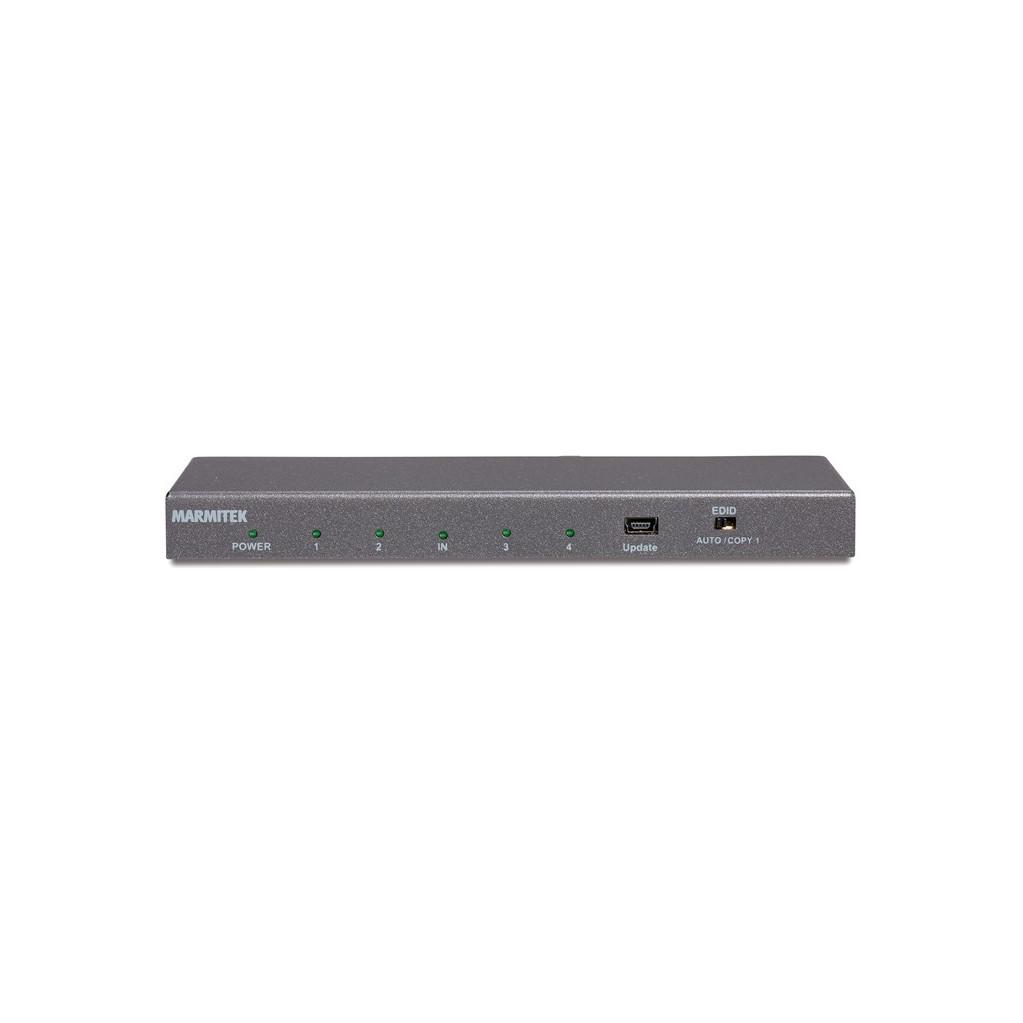 Marmitek Split 614 UHD 2.0 HDMI Splitter-1 x HDMI in   4 x HDMI uit  4K Ultra HD