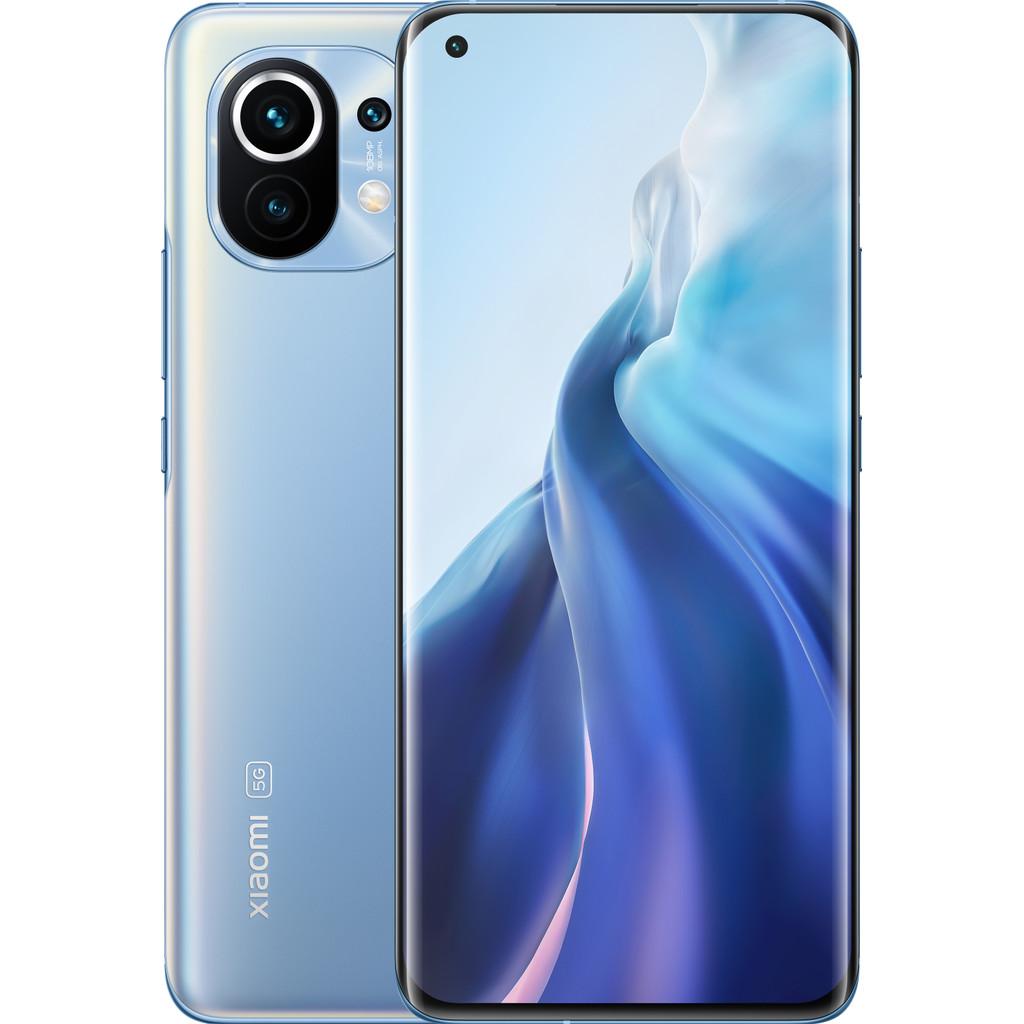 Xiaomi Mi 11 256GB Blauw 5G-256 GB opslagcapaciteit  6,8 inch quad hd scherm  Android 11