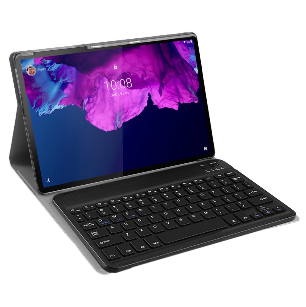 Tweedekans Just in Case Lenovo Tab P11 Premium Toetsenbord Hoes QWERTY Zwart Tweedehands