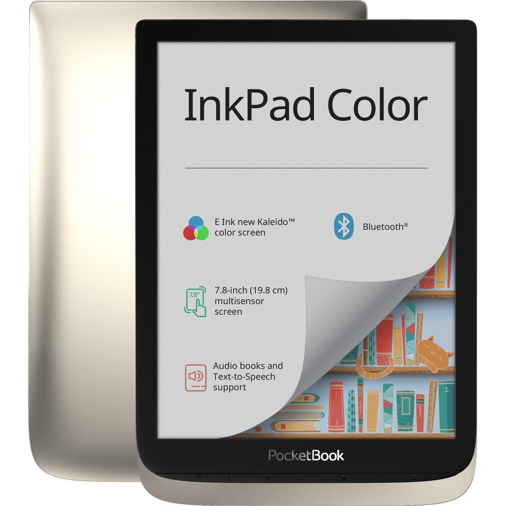 Tweedekans PocketBook InkPad Color Zilver Tweedehands