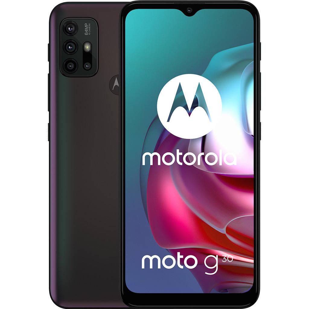 Tweedekans Motorola Moto G30 128GB Zwart Tweedehands