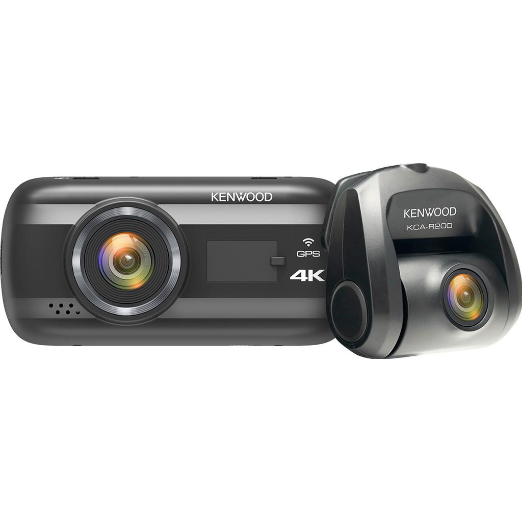 Kenwood DRV-A601W + Kenwood KCA-R200 Achteruitkijkcamera-Type beelddefinitie ondersteuning: Ultra HD 4K   Wifi ingebouwd: Ja   Bluetooth: Nee