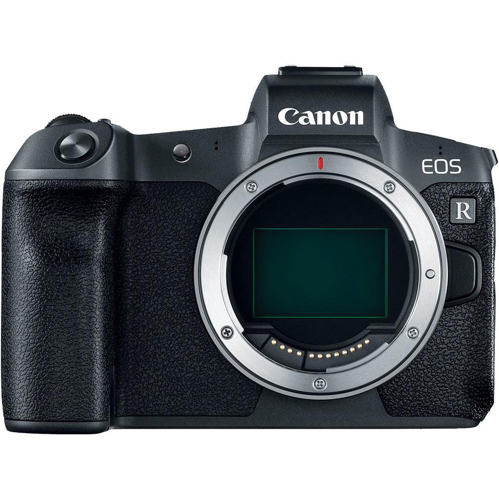 Canon EOS R Body-30,3 megapixels, full frame sensor  4K, 8 fps, wifi en bluetooth  Geen lens meegeleverd