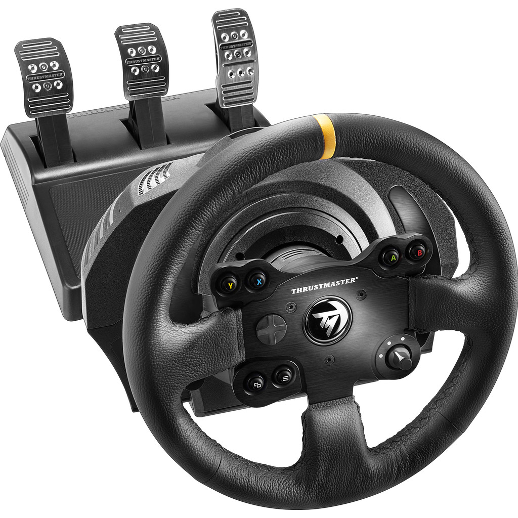 Tweedekans Thrustmaster TX Racing Wheel Leather Edition Xbox One & PC Tweedehands