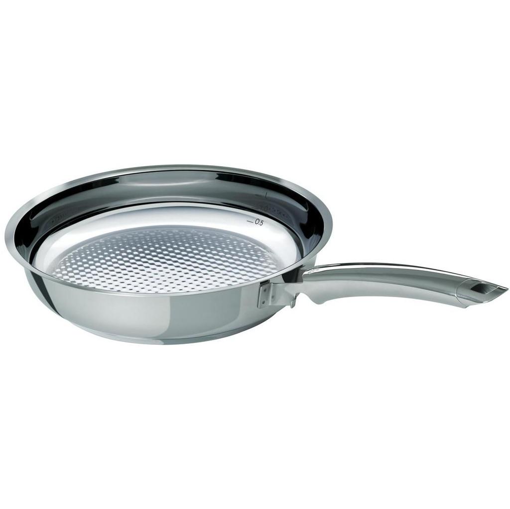 Fissler Crispy Steelux Premium Koekenpan 28 cm