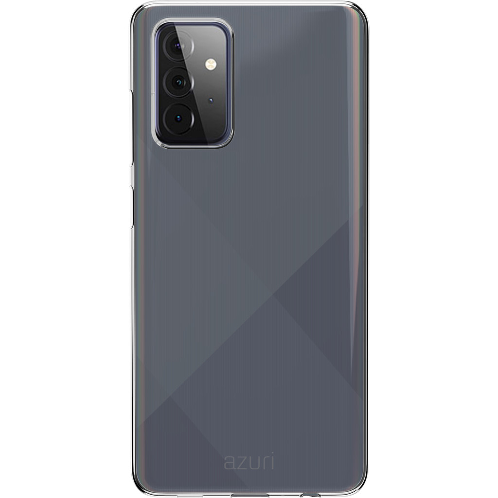 Azuri TPU Samsung Galaxy A72 Back Cover Transparant