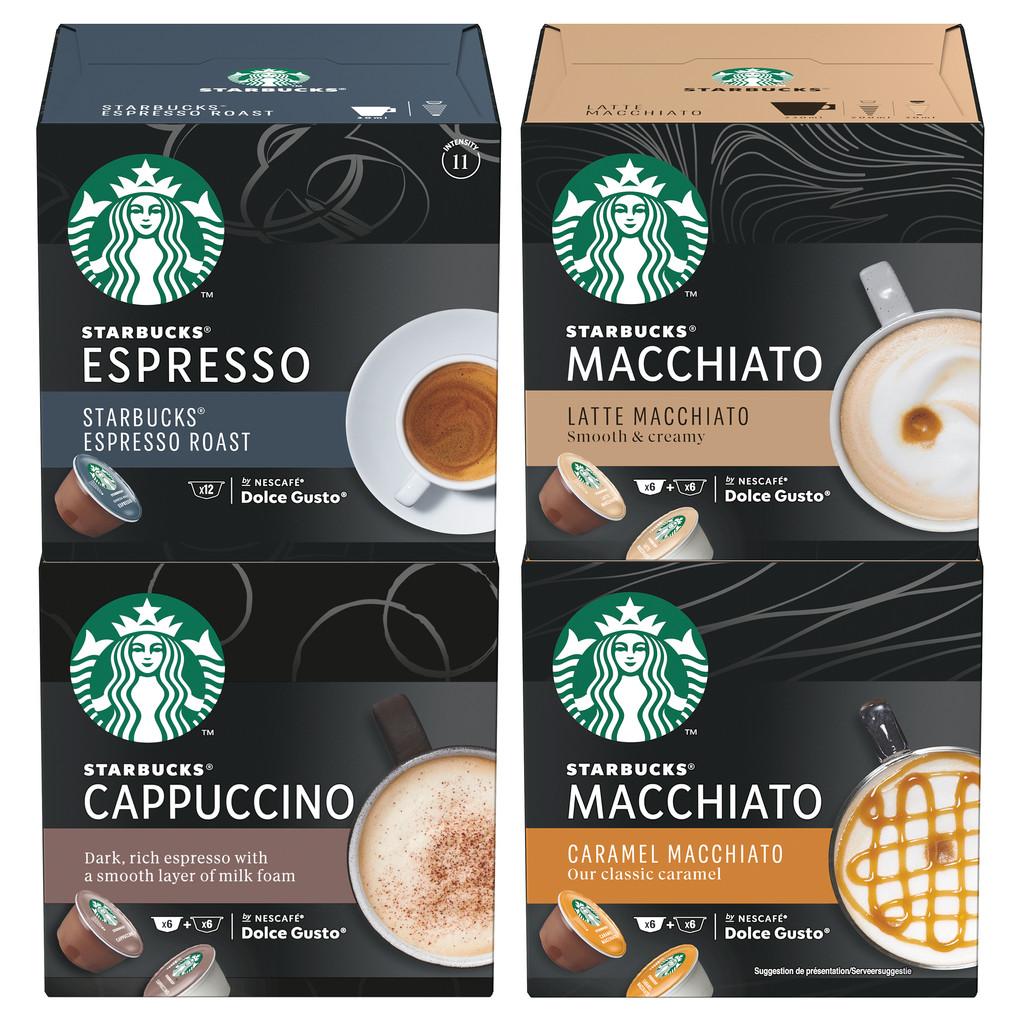 Starbucks Dolce Gusto Proefpakket 90 koppen