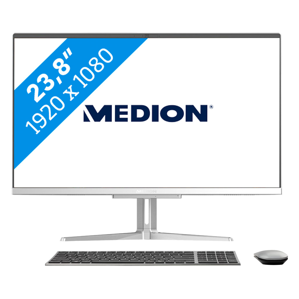 Tweedekans Medion Akoya E23403-I3-512F8 All-in-one Tweedehands