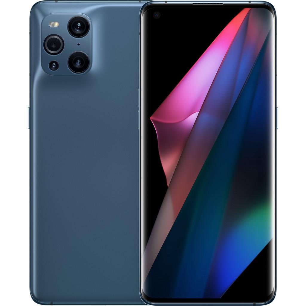 OPPO Find X3 Pro 256GB Blauw 5G-256 GB opslagcapaciteit  6,7 inch quad hd scherm  Android 11
