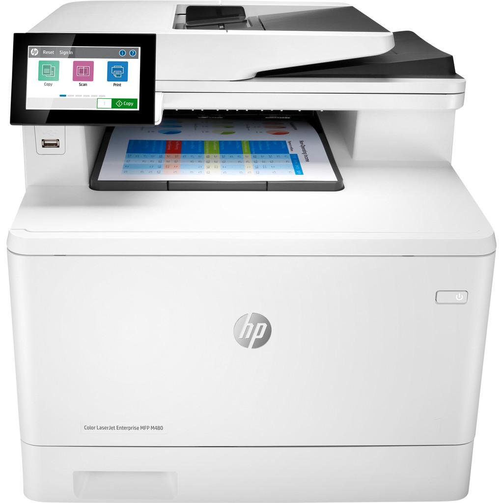 Tweedekans HP Color LaserJet Enterprise MFP M480f Tweedehands