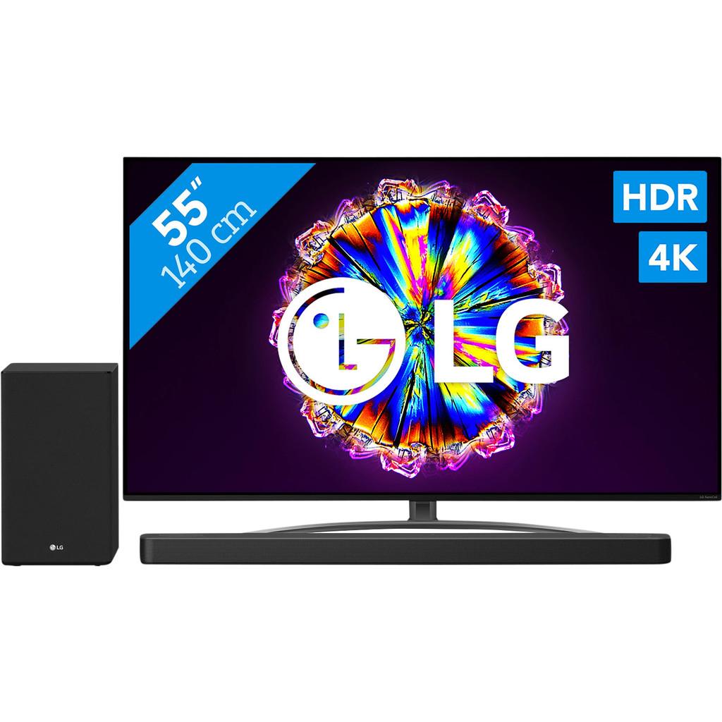 LG 55NANO866NA (2020) + Soundbar