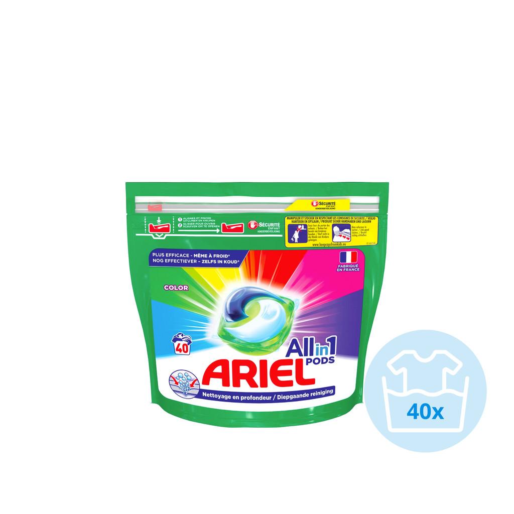 Ariel All-in1 Pods Color 40 stuks