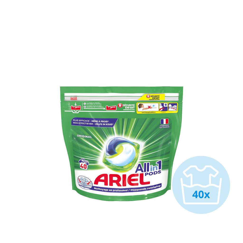 Ariel All-in-1 Pods Original 40 stuks