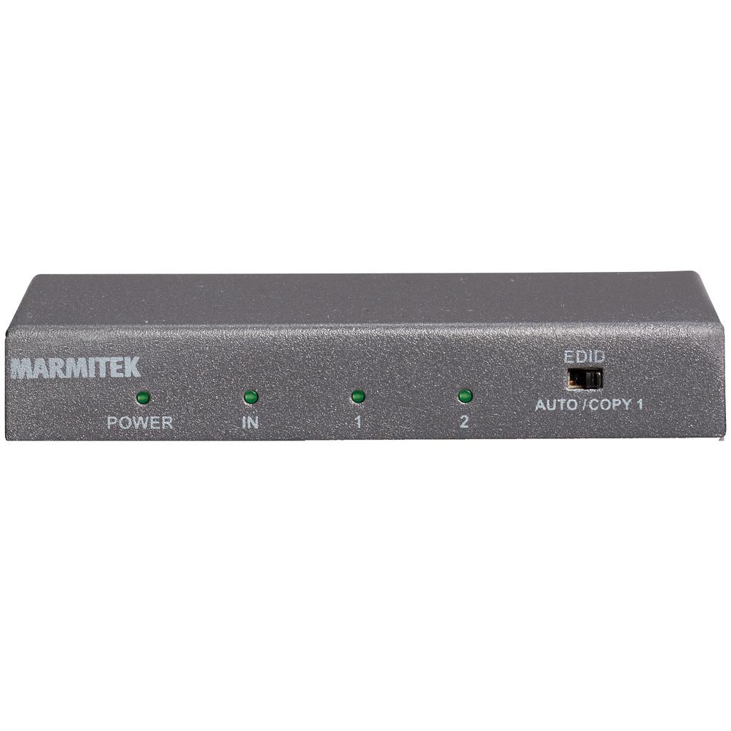 Marmitek Split 612 UHD 2.0 HDMI Splitter-1 x HDMI in   2 x HDMI uit  4K Ultra HD