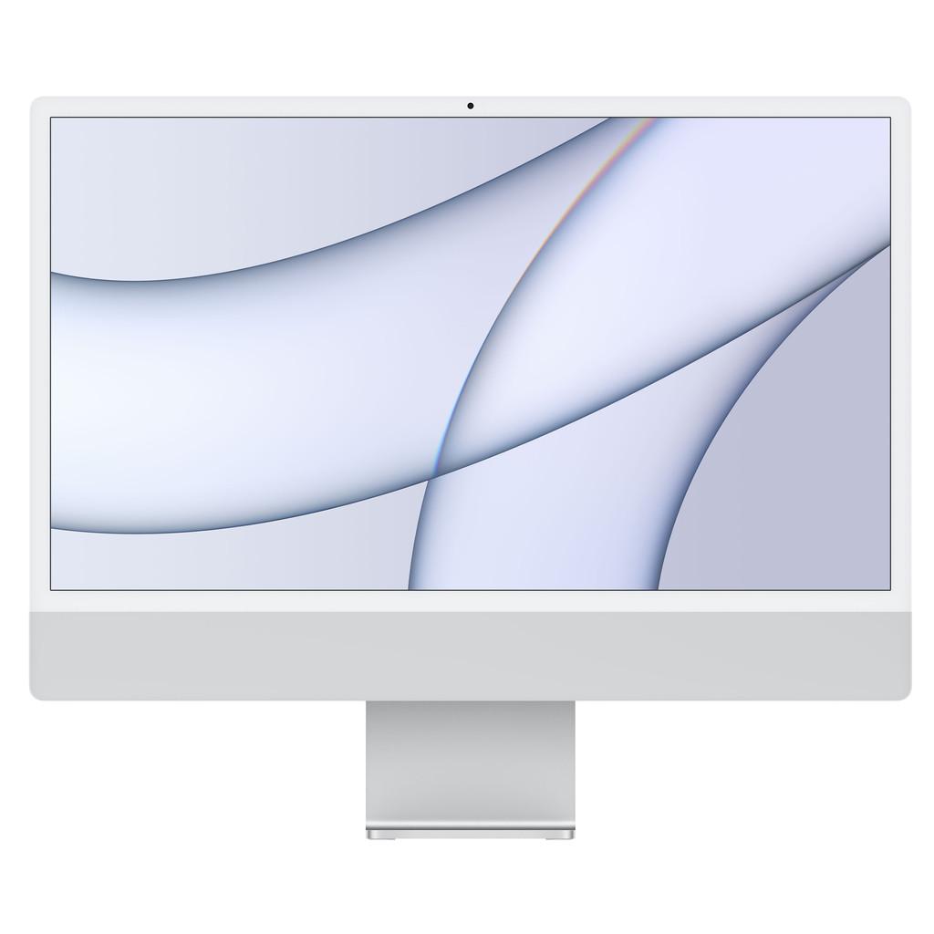 """Tweedekans Apple iMac 24"""" (2021) MGPD3N/A 8GB/512GB 8 core GPU Zilver Tweedehands"""
