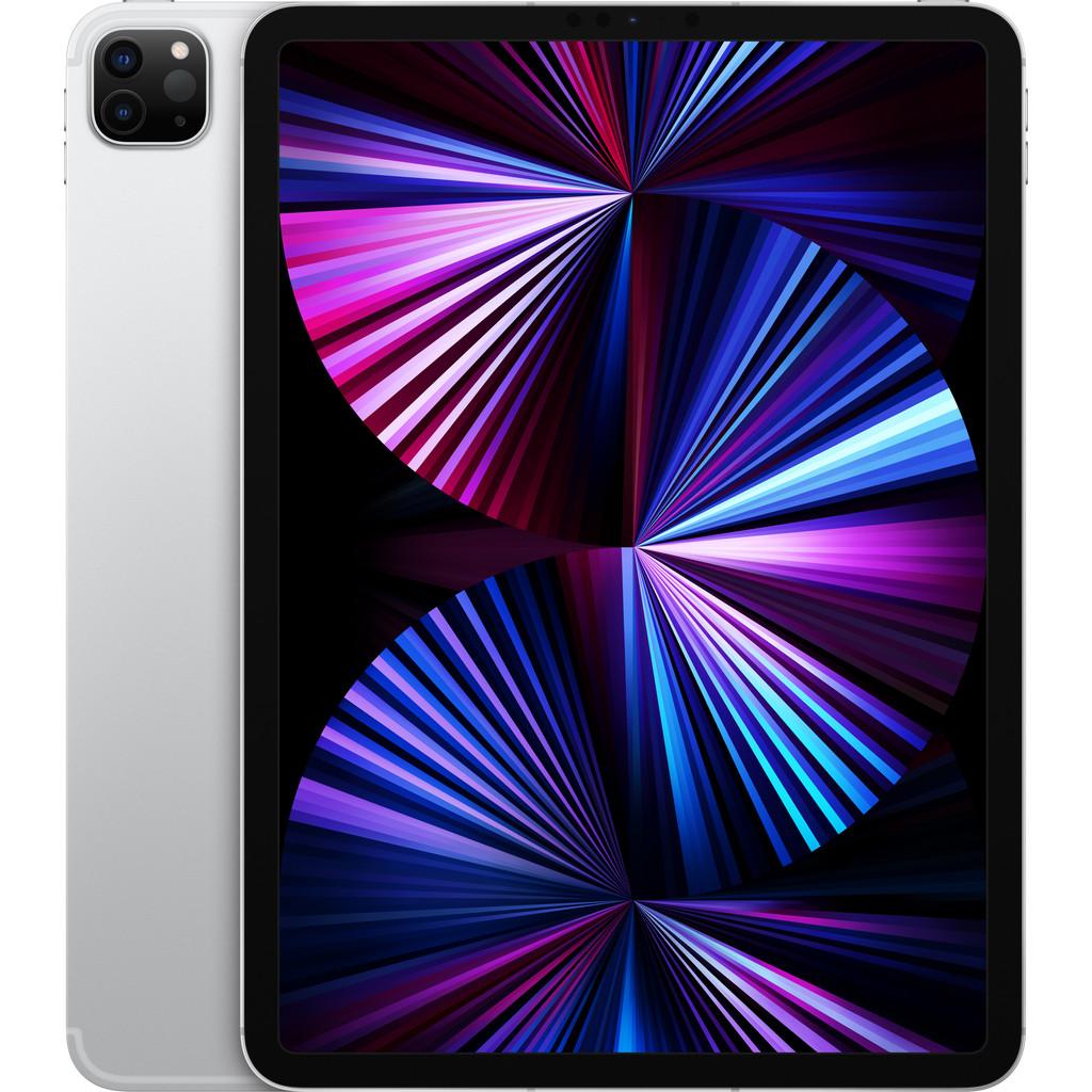 Tweedekans Apple iPad Pro (2021) 11 inch 256GB Wifi + 5G Zilver Tweedehands