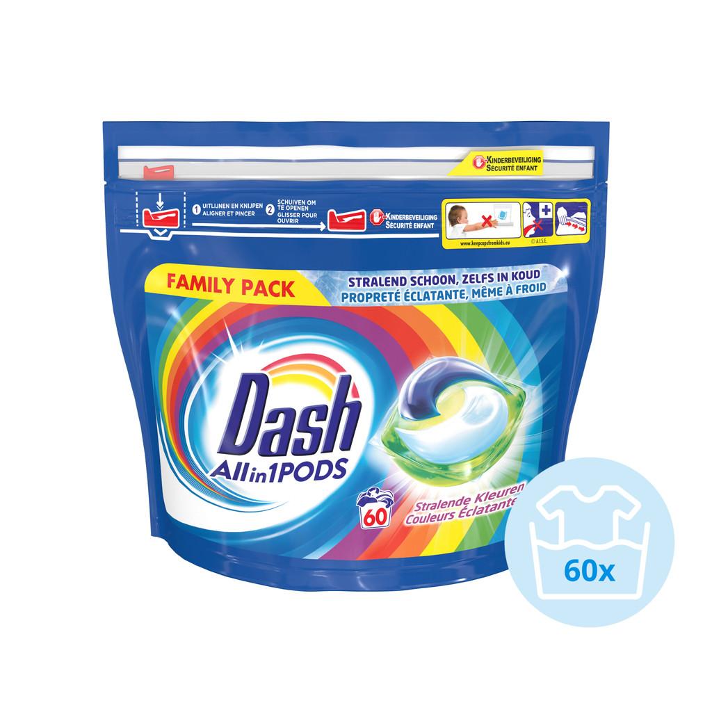 Dash All-in-1 Pods Color 60 stuks