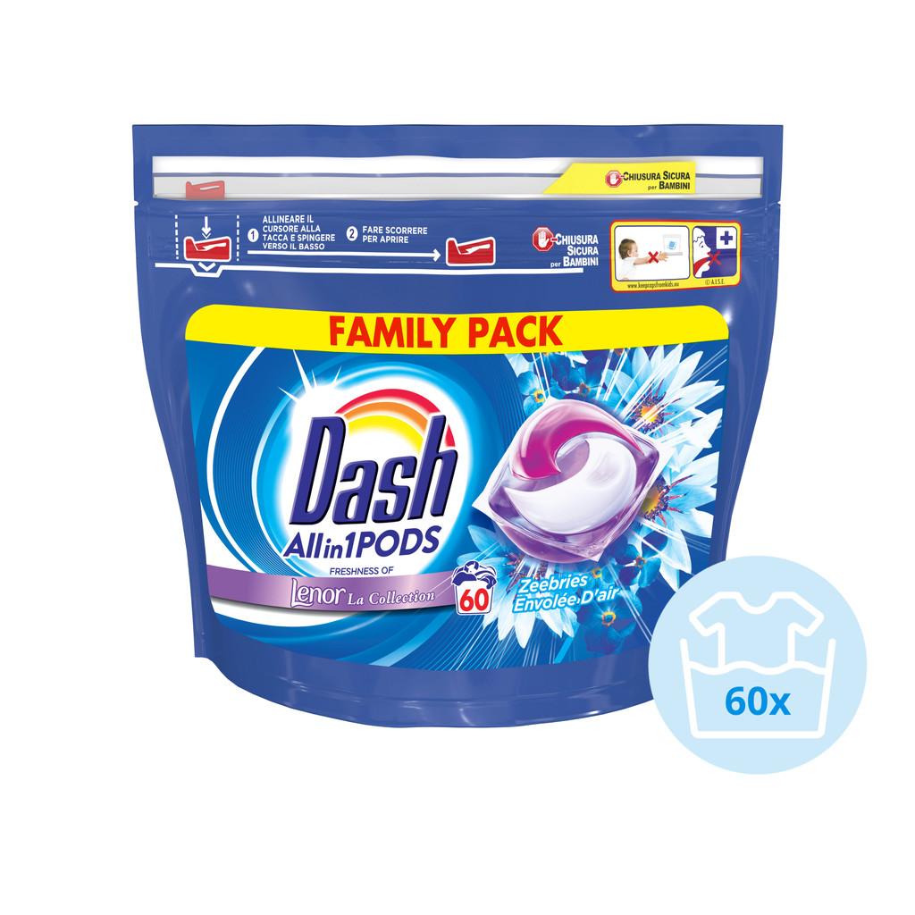 Dash All-in-1 Pods Zeebries 60 stuks