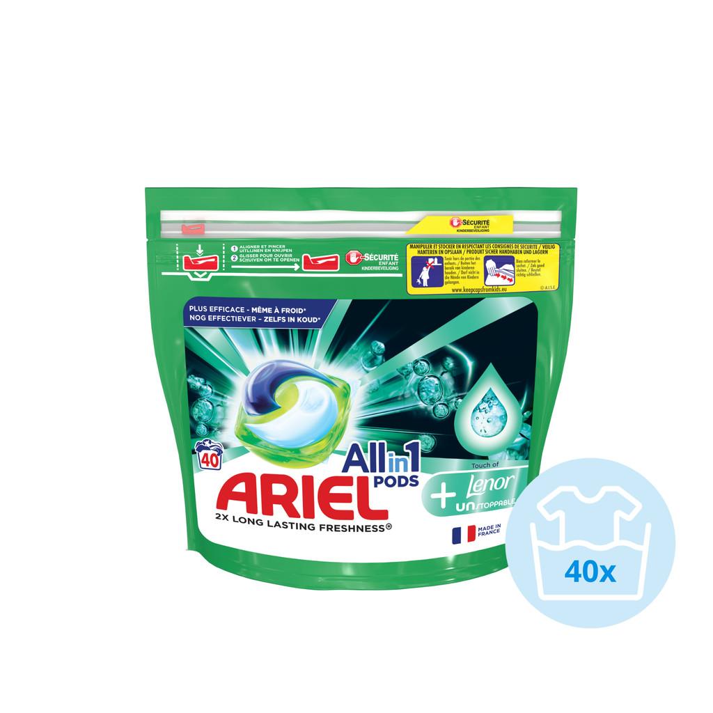 Ariel All-in-1 Pods Unstoppables 40 stuks