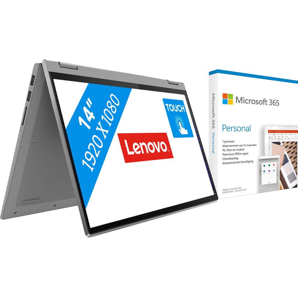 Lenovo IdeaPad Flex 5 14ARE05 81X20066MH + Microsoft 365 Personal NL Abonnement 1 jaar