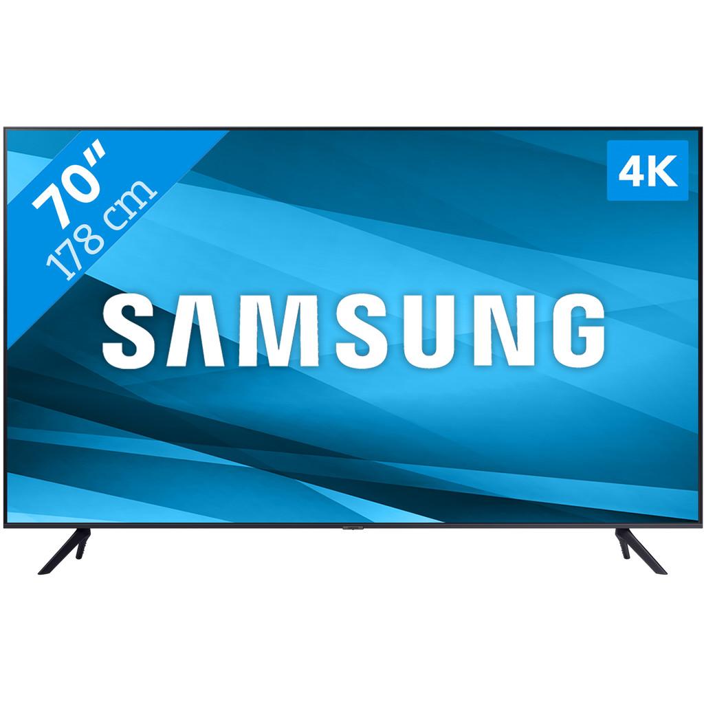 Tweedekans Samsung Crystal UHD 70AU7100 (2021) Tweedehands