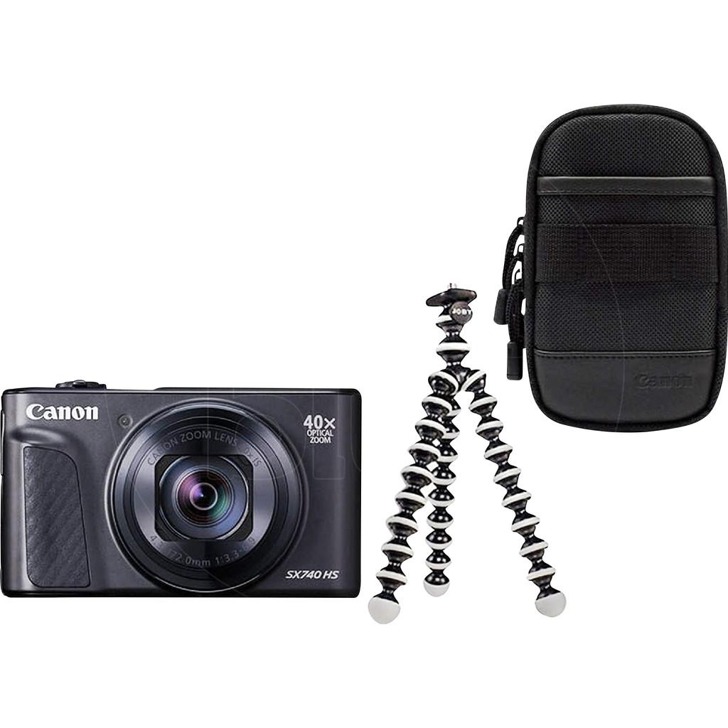 Canon Powershot SX740 HS Travel Kit-20,3 megapixel CMOS-sensor  40x optische zoom  4K video