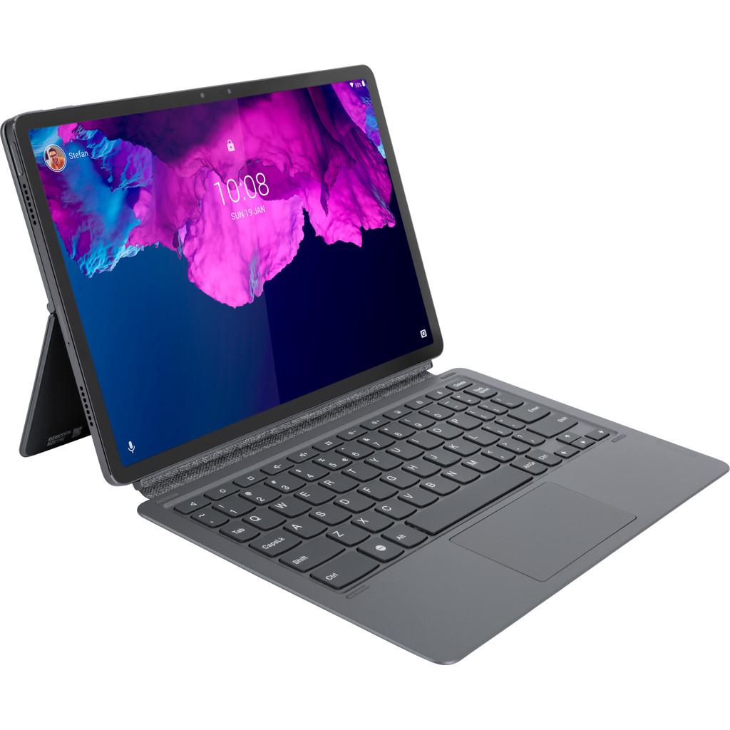 Tweedekans Lenovo Tab P11 Pro Keyboard Cover QWERTY Grijs Tweedehands