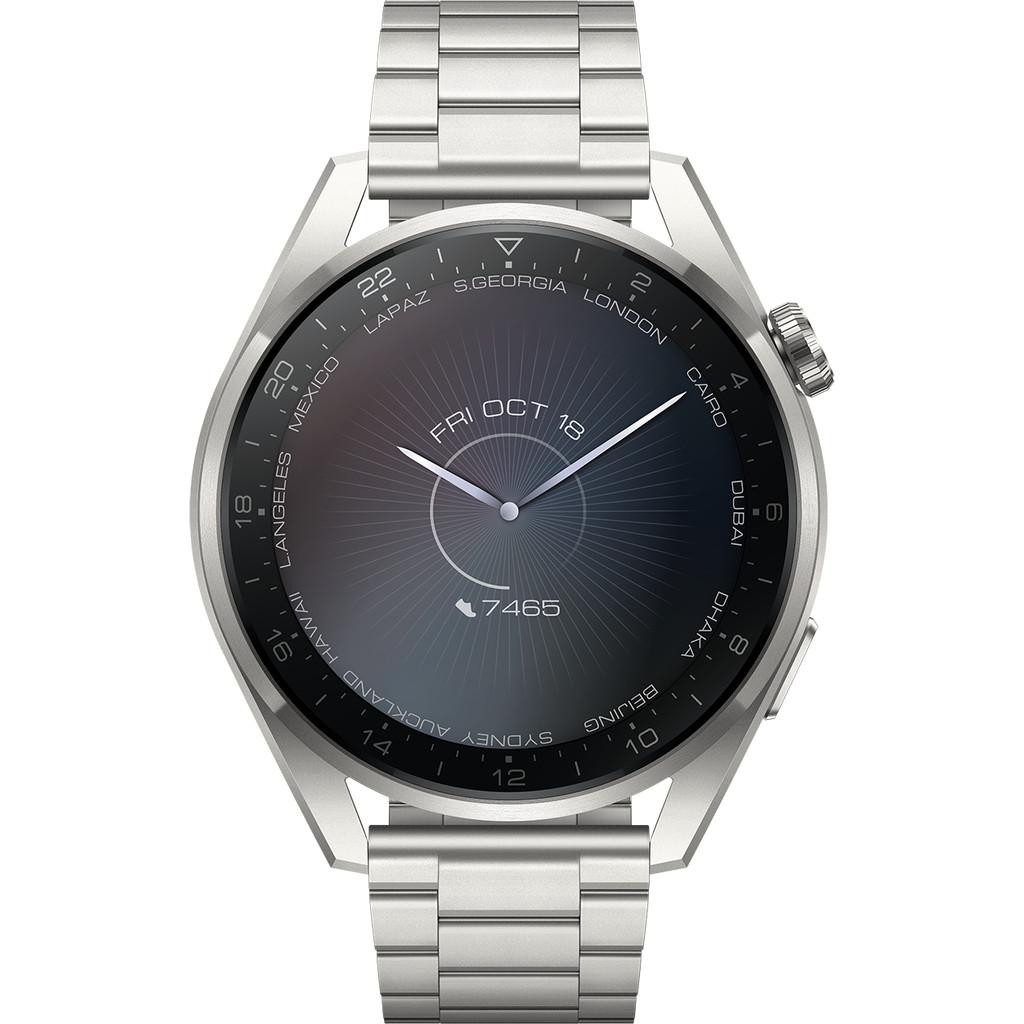 Tweedekans Huawei Watch 3 Pro Elite 4G Zilver/Zilver 49mm Tweedehands