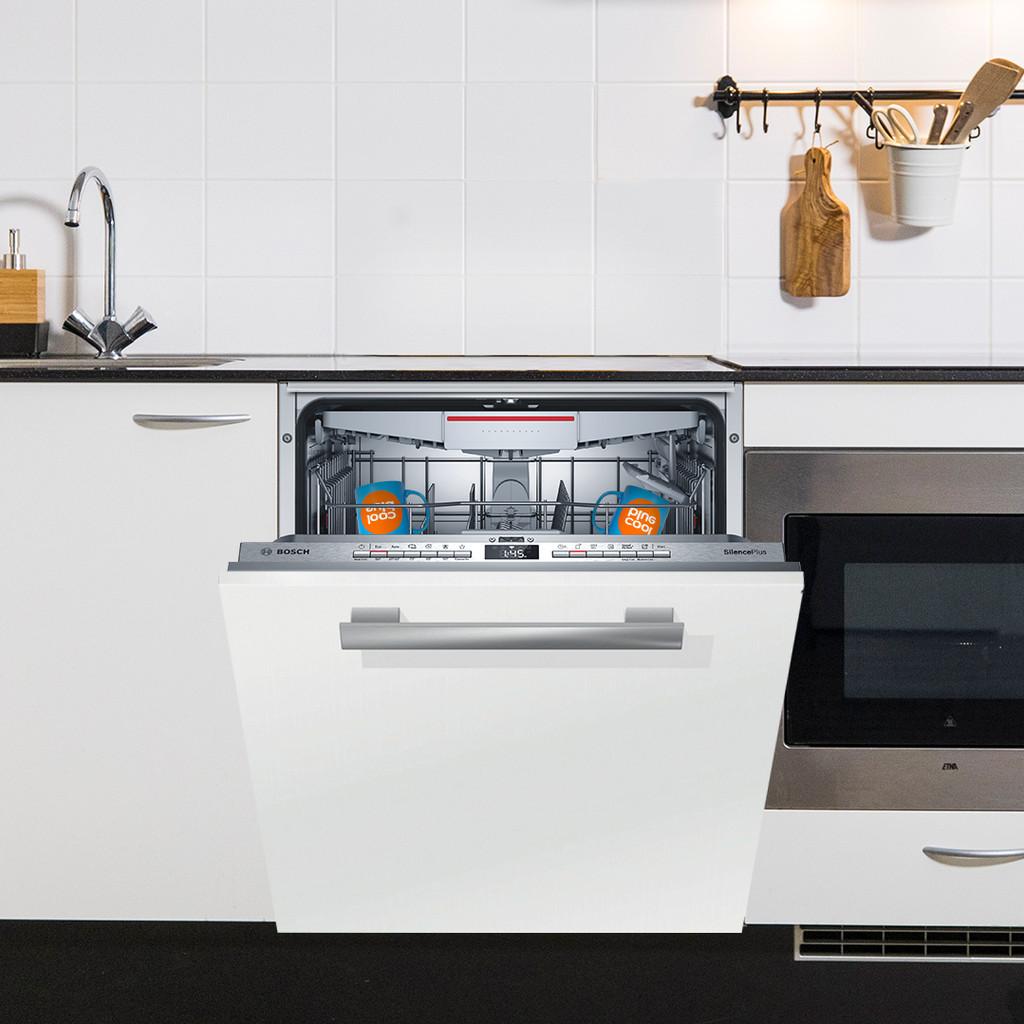 Tweedekans Bosch SMV4HCX48E / Inbouw / Volledig geïntegreerd / Nishoogte 81,5 - 87,5 cm