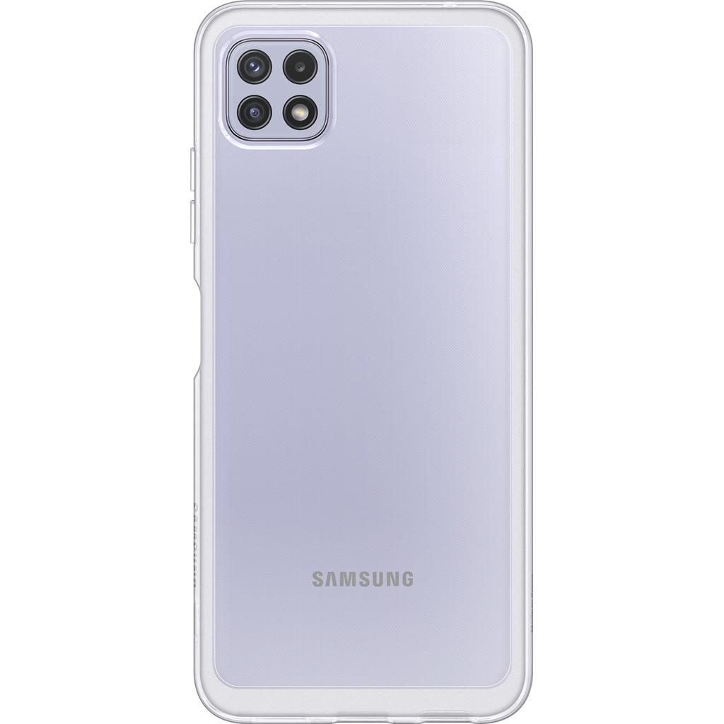 Samsung Galaxy A22 5G Siliconen Back Cover Transparant