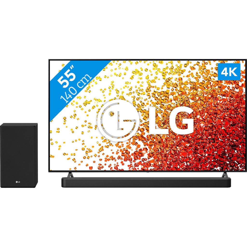 LG 55NANO756PA (2021) + Soundbar