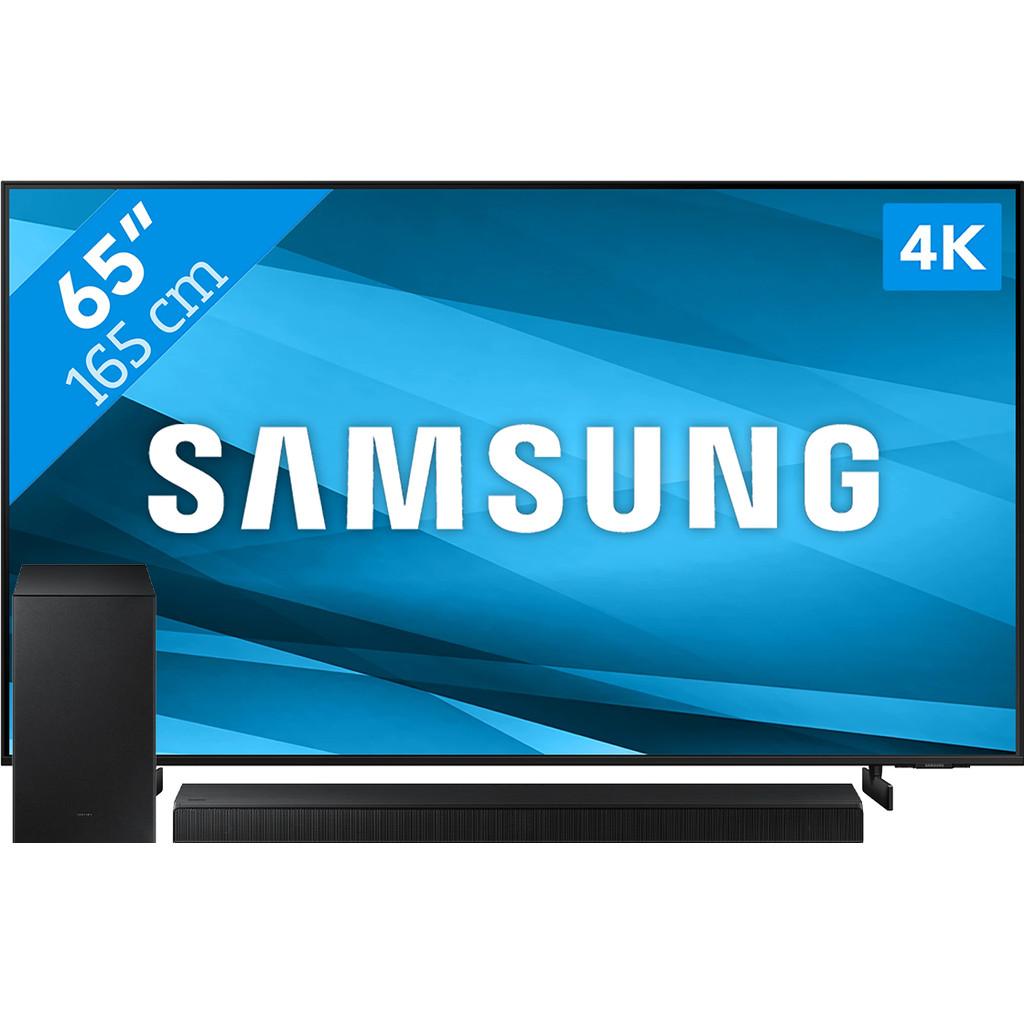 Samsung Crystal UHD 65AU8000 (2021) + Soundbar