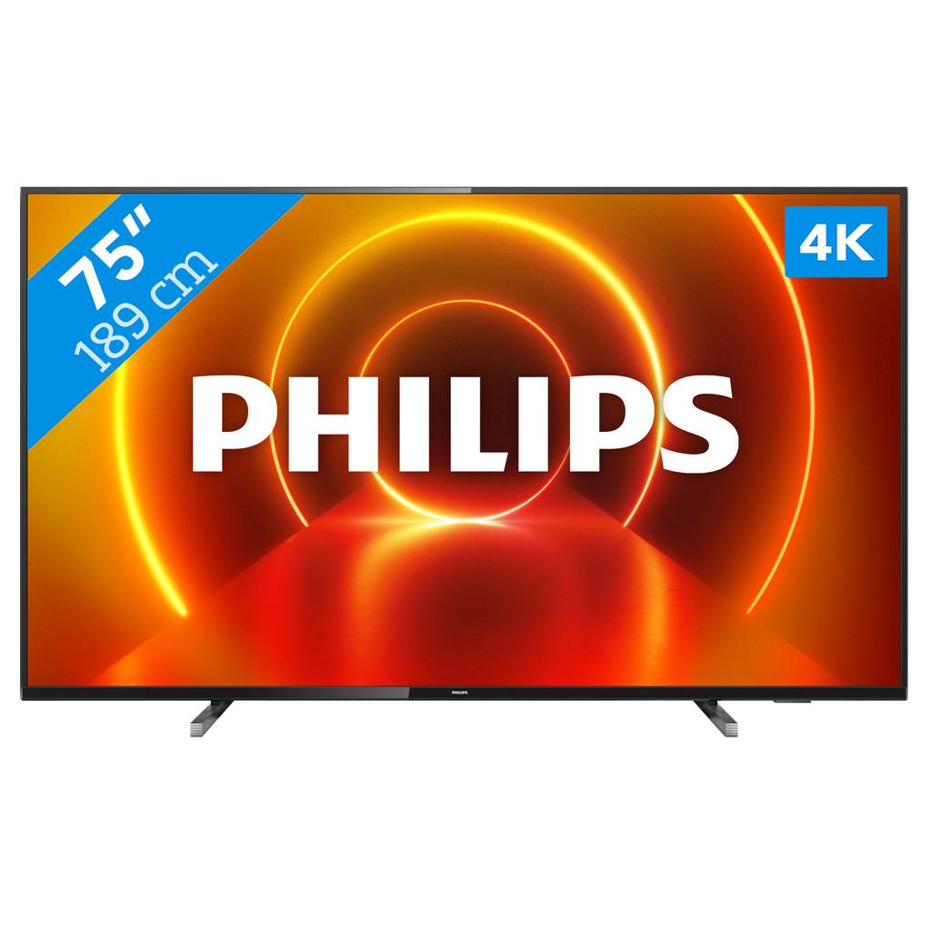 Tweedekans Philips 75PUS7805 - Ambilight (2020) Tweedehands