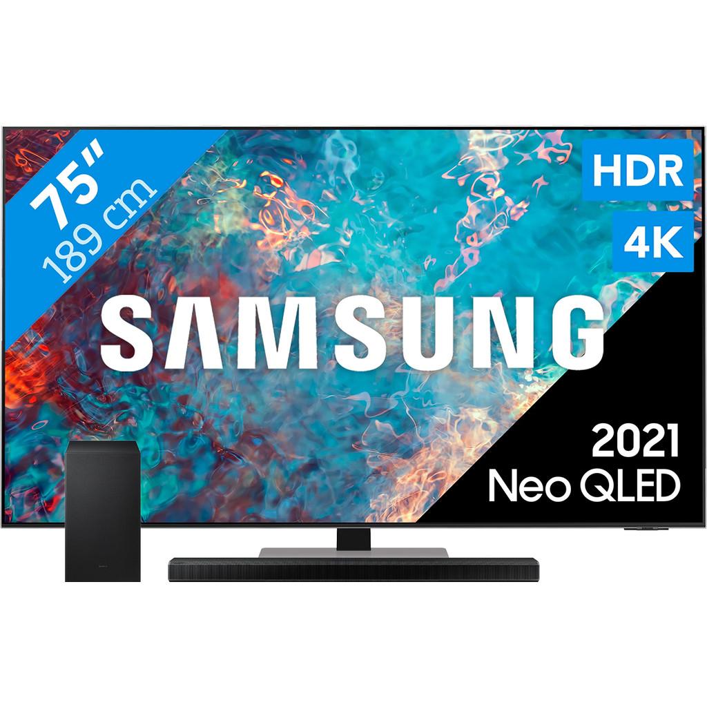 Samsung Neo QLED 75QN85A (2021) + Soundbar
