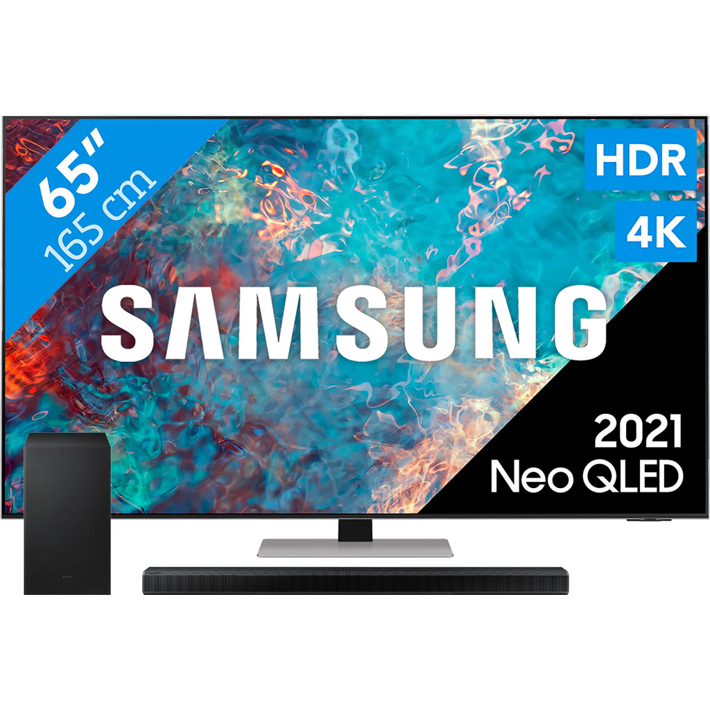 Samsung Neo QLED 65QN85A (2021) + Soundbar