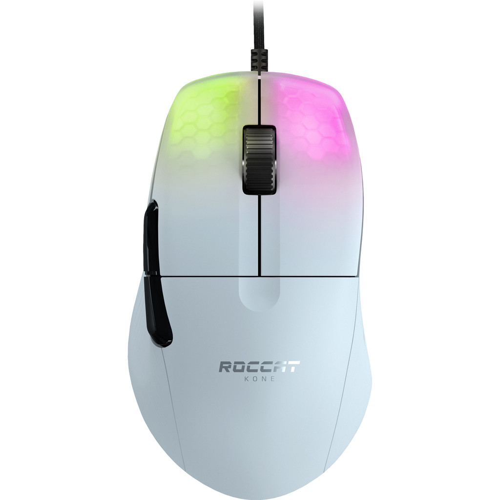 Roccat Kone One Pro Gaming Muis Wit