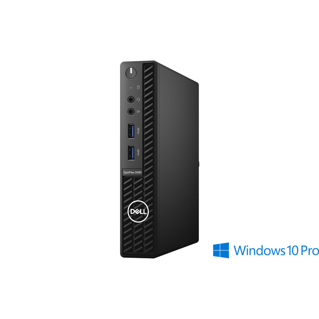 Dell Optiplex 3080 MFF - 85PCF + 3Y Onsite