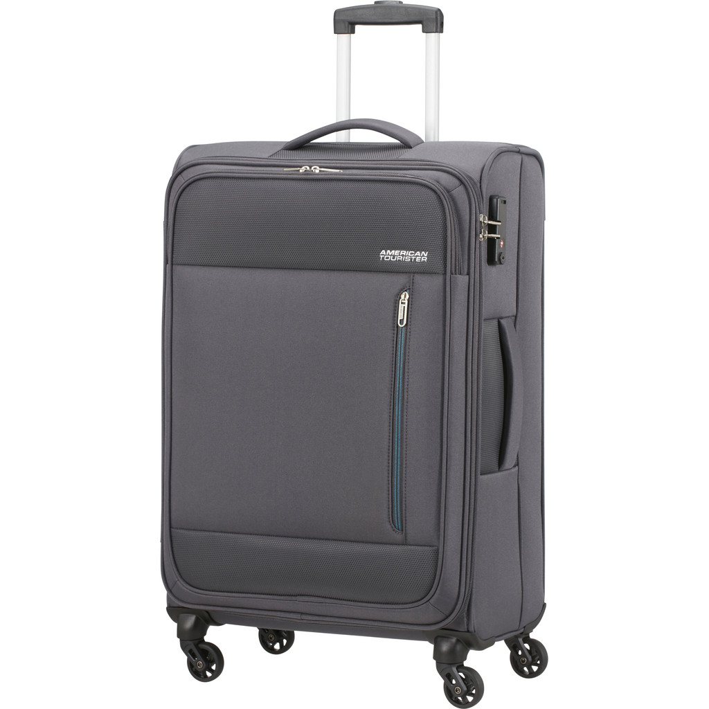 American Tourister Heat Wave Spinner 68cm Charcoal Grey