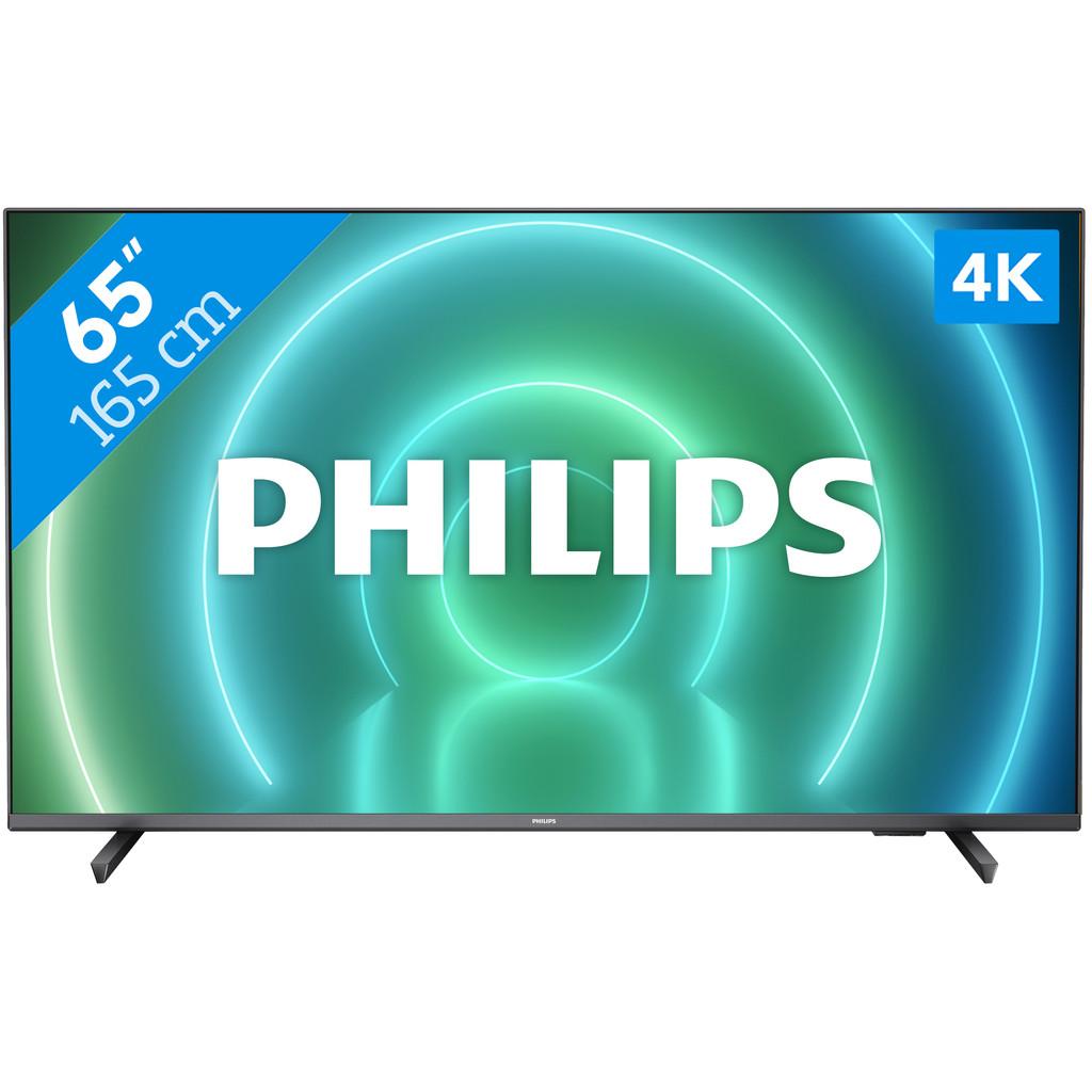 Tweedekans Philips 65PUS7906 - Ambilight (2021) Tweedehands