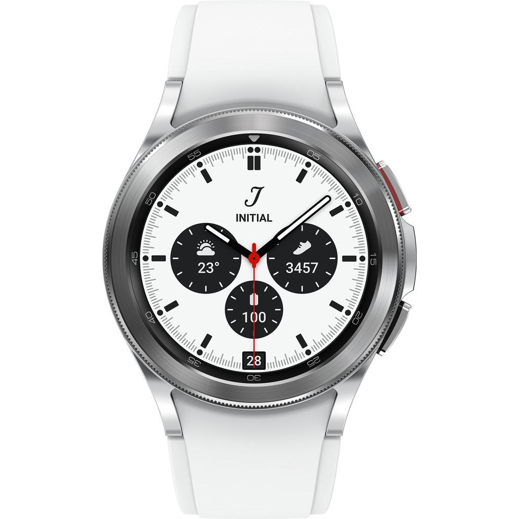 Tweedekans Samsung Galaxy Watch4 Classic 42 mm Zilver Tweedehands