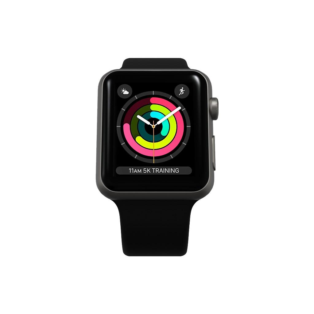 Tweedekans Refurbished Apple Watch Series 3 42mm Space Gray Tweedehands