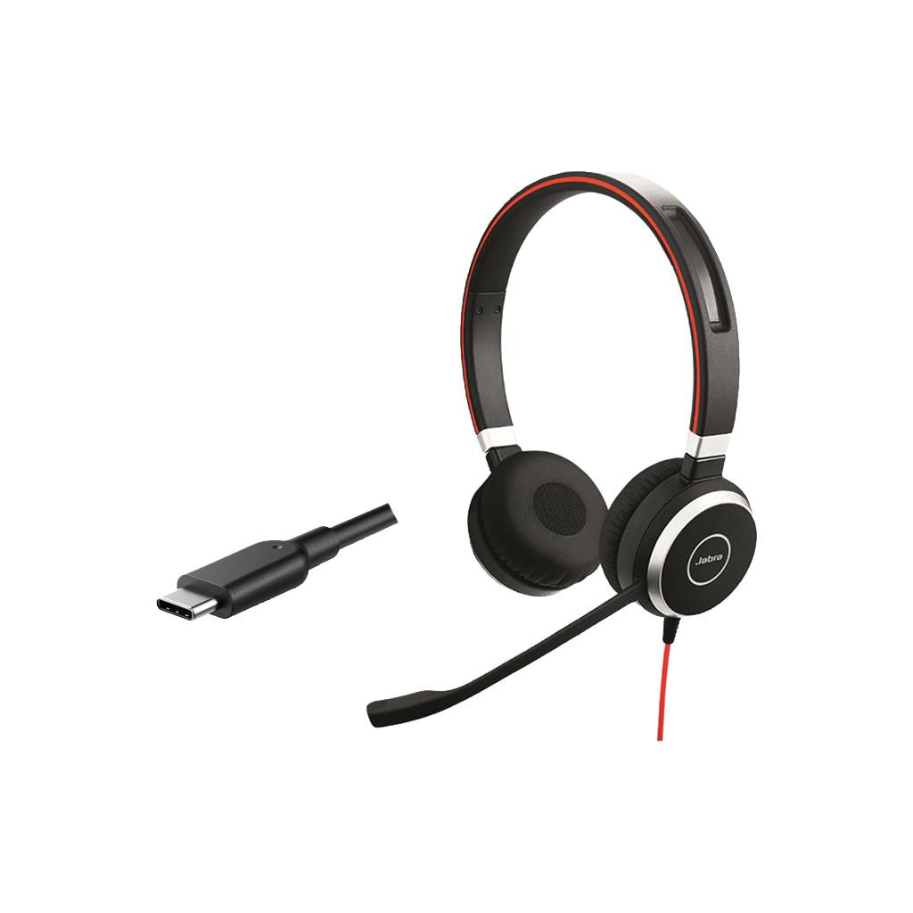 Jabra Evolve 40 USB-C – MS Stereo Office Headset
