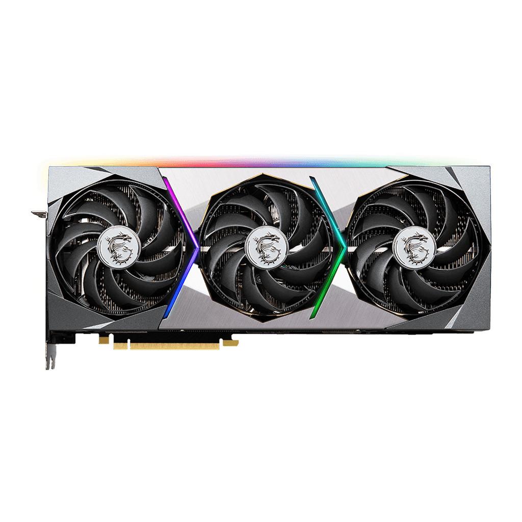 MSI GeForce RTX 3080 Ti SUPRIM X 12G-Verlichting peripherals  12 GB GDDR6X geheugen  Kloksnelheid 1830 MHz