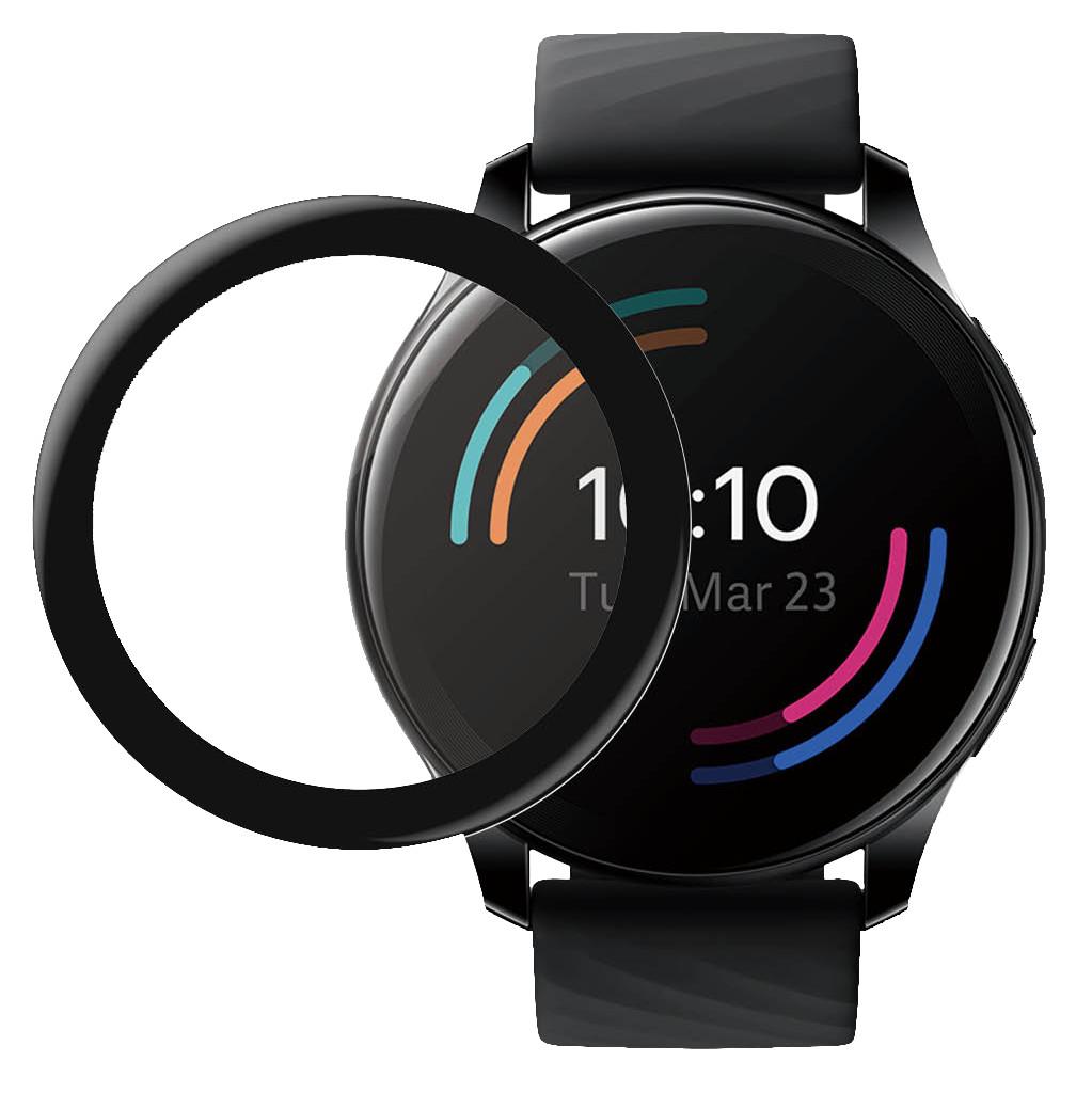 PanzerGlass Anti-Bacterial OnePlus Watch Screenprotector Glas Zwart