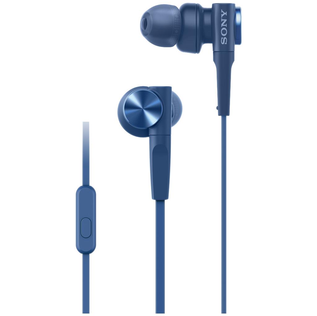 Sony MDR-XB55AP Blauw