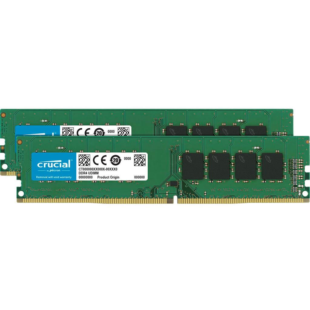 Crucial 8GB 2666MHz DDR4 SODIMM CL19 (2x4GB)